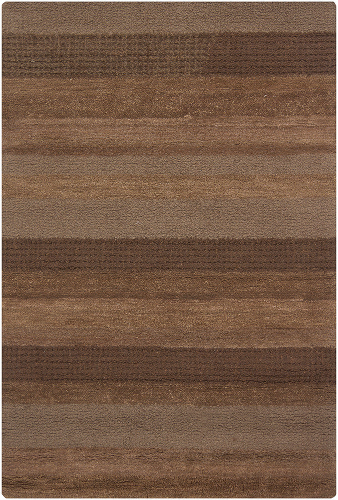 Dejon Collection Hand-Tufted Area Rug in Brown & Tan