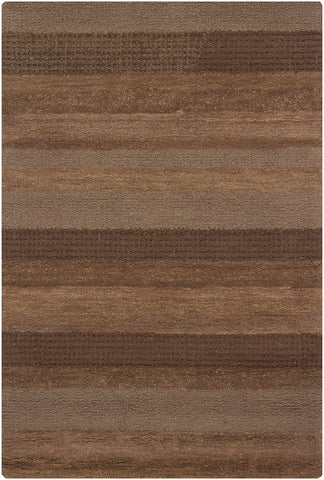 Dejon Collection Hand-Tufted Area Rug in Brown & Tan design by Chandra rugs