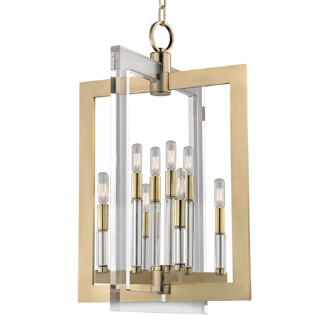 Wellington 8 Light Pendant - Medium Pendant by Hudson Valley Lighting