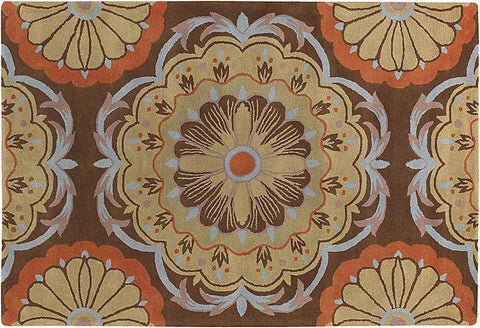 Dharma Hand-Tufted New Zealand Wool Area Rug design by Chandra rugs