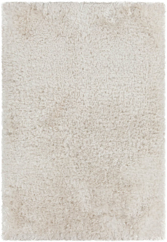 Diano Collection Hand-Woven Area Rug in White
