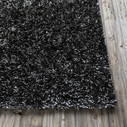 Dior Collection Hand-Woven Area Rug in White & Black design by Chandra rugs