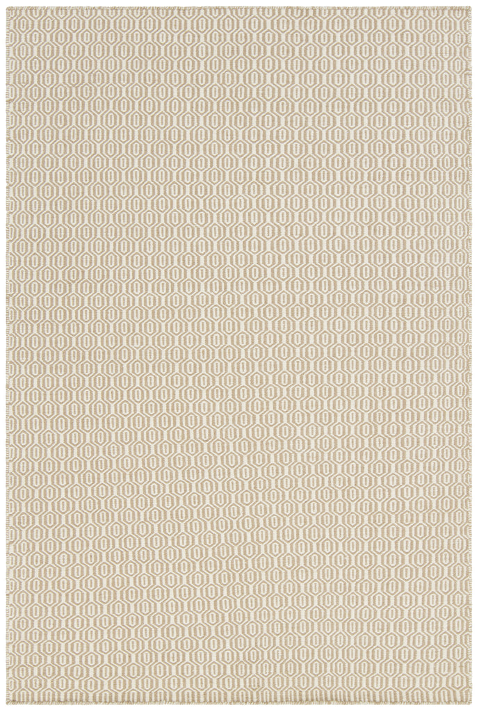 Diva Collection Flatweave Area Rug in Cream & Beige design by Chandra rugs