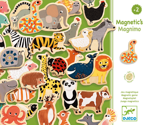 Wooden Magnetics Magnimo design by DJECO