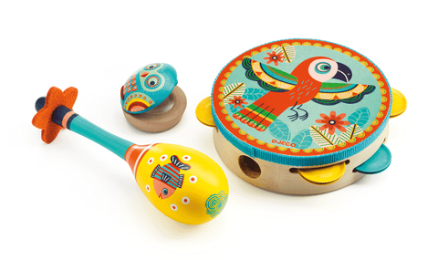 Animambo Set of 3 Instruments design by DJECO