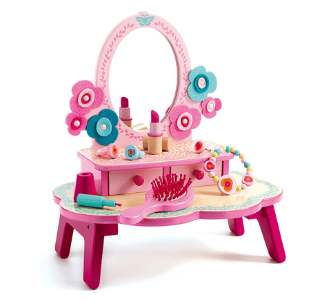 Role Play Flora Dressing Table design by DJECO