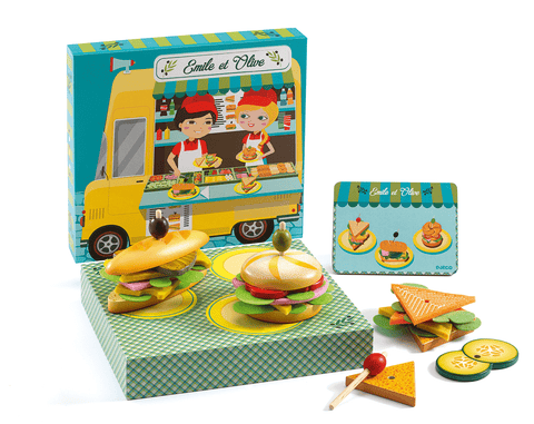 Role Play Emile & Olive Food Truck design by DJECO