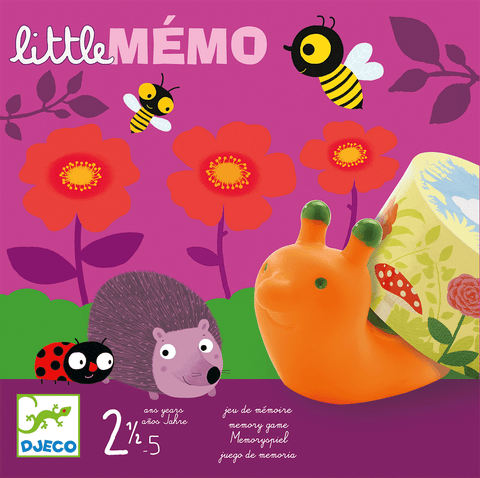 Little Games Little Memo design by DJECO