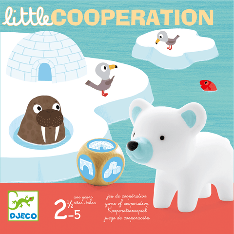 Little Games Little Cooperation design by DJECO