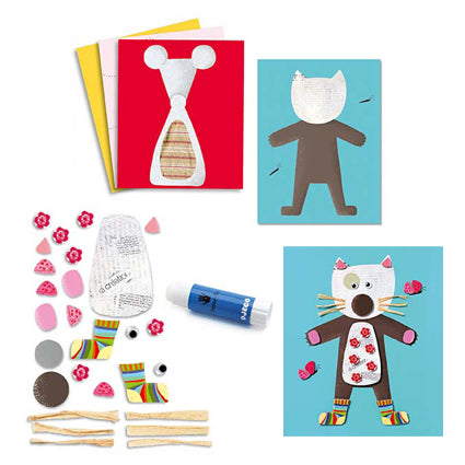 Le Petit Artist Collages for Little Ones