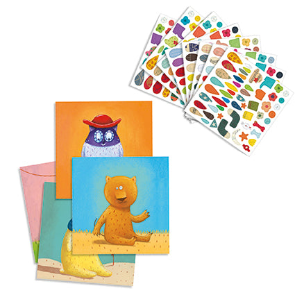 Petit Gifts Sticker Kits Create Animals