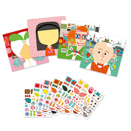 Petit Gifts Sticker Kits Make-A-Face
