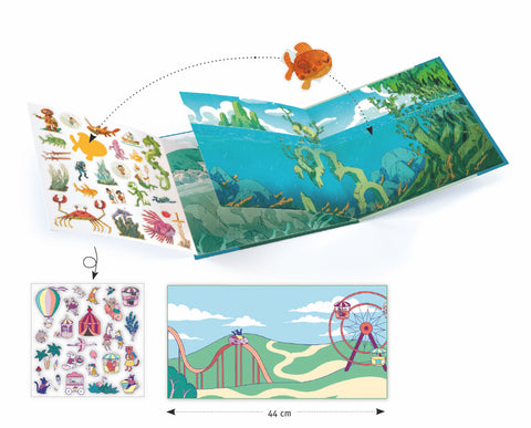 Petit Gift Sticker Stories Adventure at Sea
