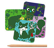 Petit Gifts Scatch Cards Country Creatures