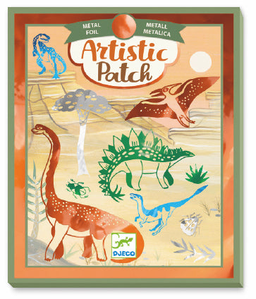 Le Grand Artist Artistic Patch Dinosaurs