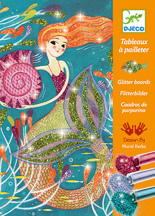 Le Grand Artist Glitter Boards Mermaids Lights