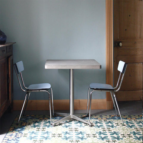 Bistrot - Square Dining Table by Lyon Béton