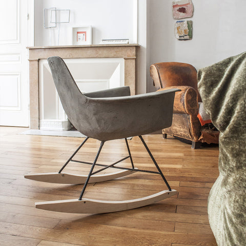 Hauteville - Rocking Chair by Lyon Béton