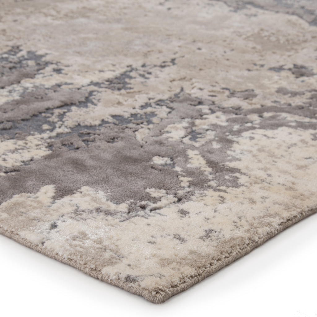 Aegean Abstract Gray & Beige Rug by Jaipur Living