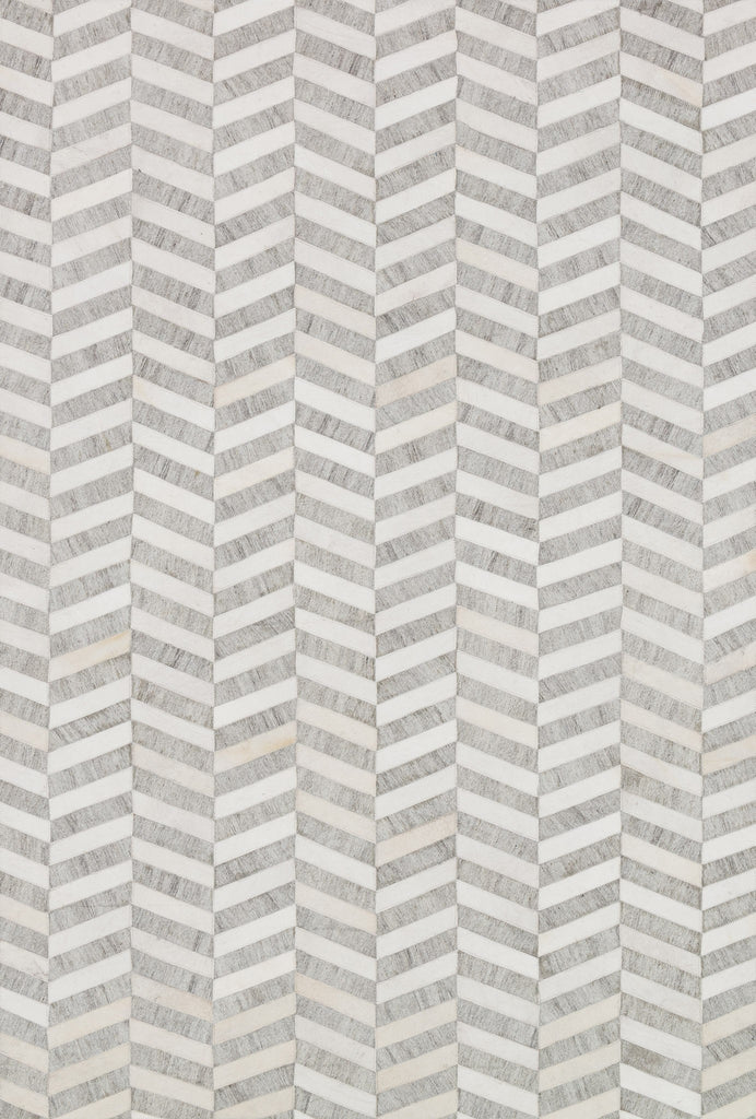 Dorado Rug in Grey & Ivory by Loloi