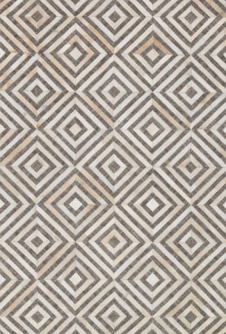 Dorado Rug in Taupe & Sand by Loloi