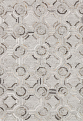 Dorado Rug in Grey & Grey by Loloi