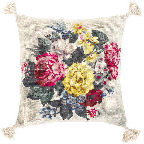 Daphne DPH-002 Hand Woven Pillow in Multi-Color by Surya