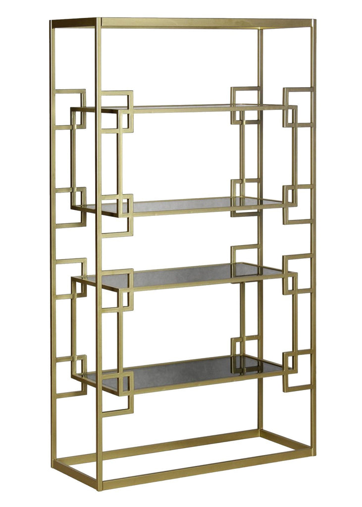 Athens Etagere in Antique Gold design by Selamat