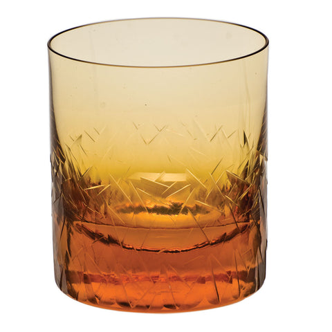 Drift Ice Double Old Fashioned Glass in Various Colors