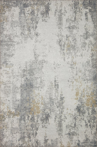 Drift Rug in Ivory / Granite by Loloi II