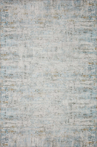 Drift Rug in Ivory / Sky by Loloi II