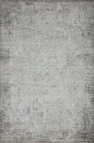 Drift Rug in Ivory / Silver by Loloi II
