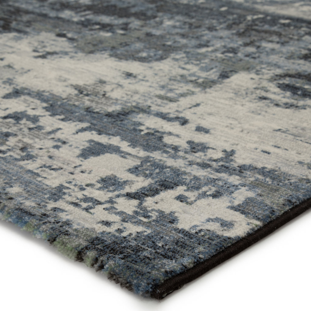 Buxton Abstract Blue/ Light Gray Rug by Jaipur Living