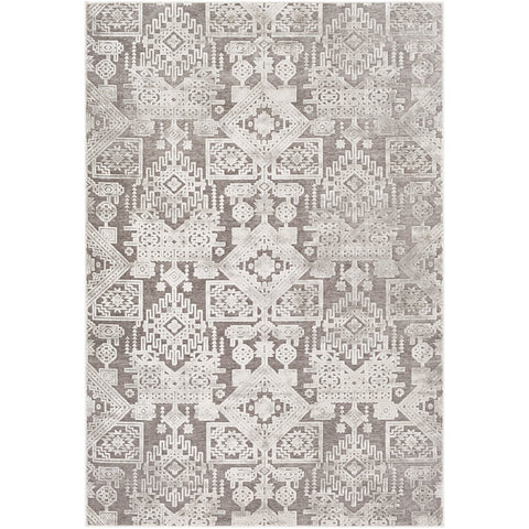 Dantel DTL-2309 Rug in Silver Grey & Taupe by Surya
