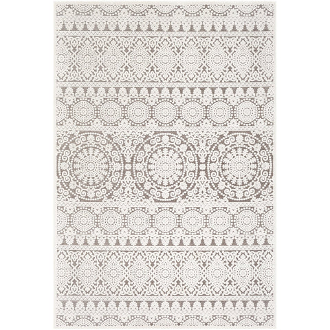 Dantel DTL-2317 Rug in Silver Grey & Taupe by Surya