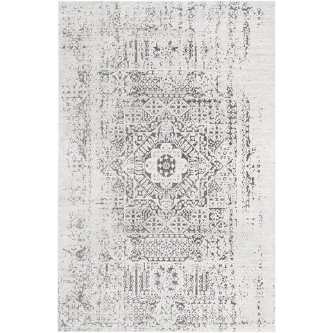 Dantel DTL-2320 Rug in Silver Grey & Taupe by Surya