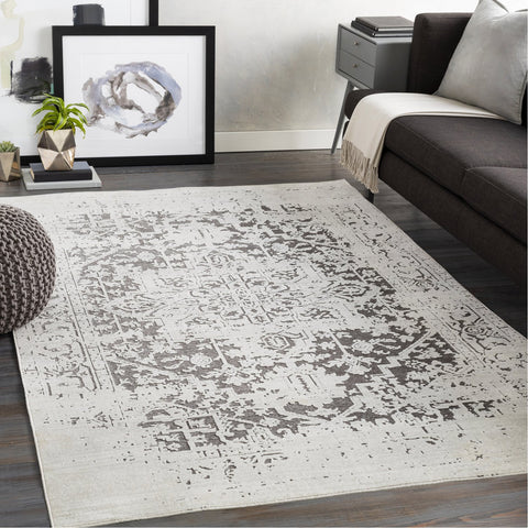 Dantel DTL-2331 Rug in Silver Grey & Taupe by Surya