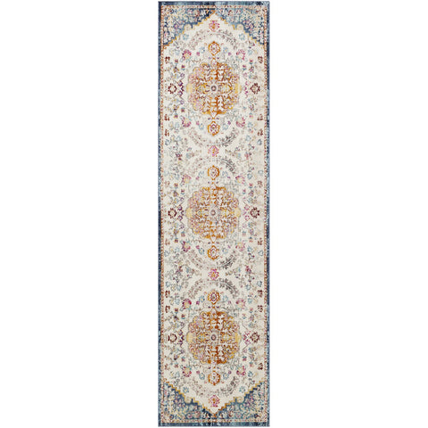 Dublin DUB-2309 Rug in Navy & White by Surya