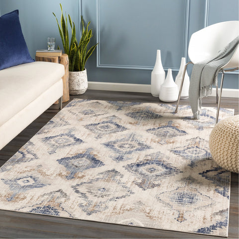 Dublin DUB-2310 Rug in Taupe & Medium Grey by Surya
