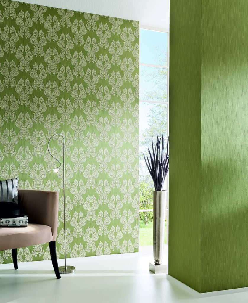 Damask Floral Wallpaper design by BD Wall