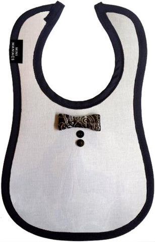 Dapper Baby Bib by Mini Maniacs