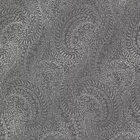 Daraxa Paisley Wallpaper from the Alhambra Collection by Brewster Home Fashions
