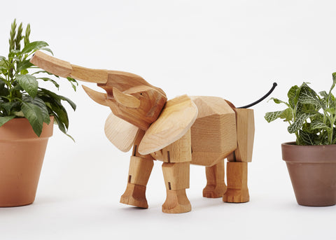 Hattie the Elephant design by Areaware