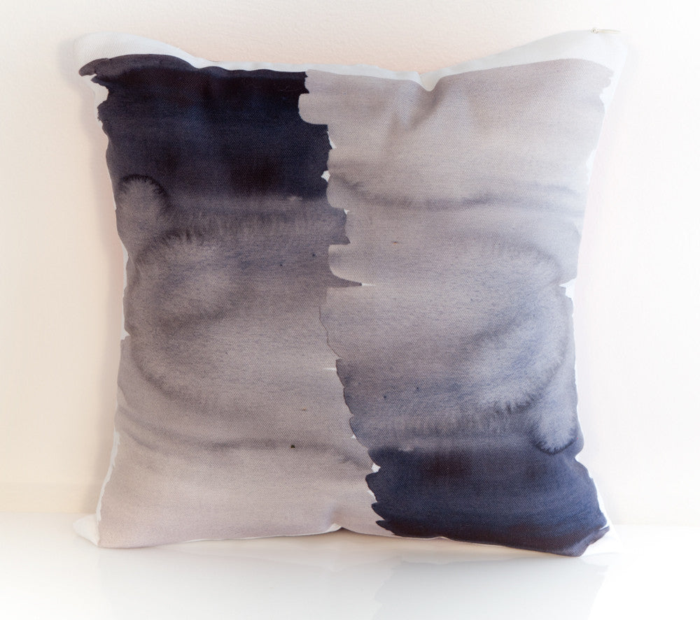 Ink Throw Pillow designed by elise flashman
