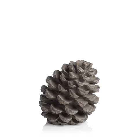 Decorative Slanting Pinecone Figurine