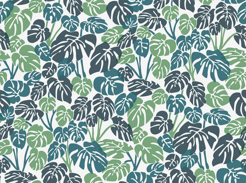 Deliciosa Wallpaper in Rainforest design by Aimee Wilder
