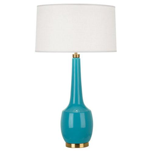 Delilah Collection Table Lamp in Multiple Colors by Robert Abbey