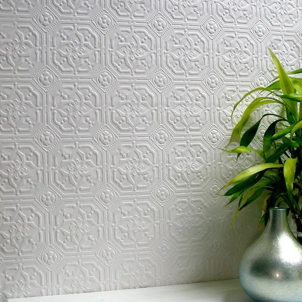 Derby Paintable Anaglypta Wallpaper Design By Brewster Home Fashions