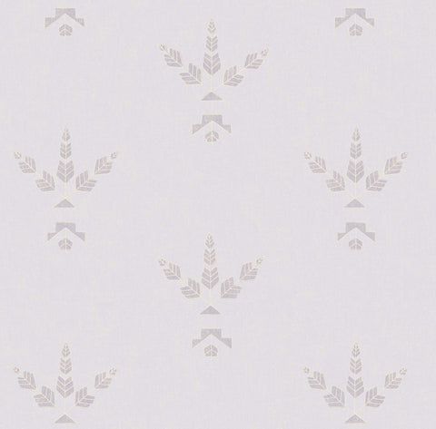 Desert Bloom Wallpaper in Petal by Cavern Home