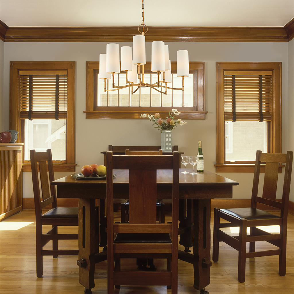 Dillon 6 Light Chandelier by Hudson Valley Lighting